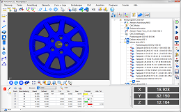 Inspection Software ThomControl with CAD