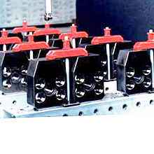 Clamping system claws